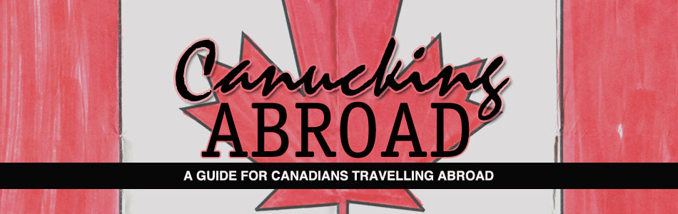 Canucking Abroad logo